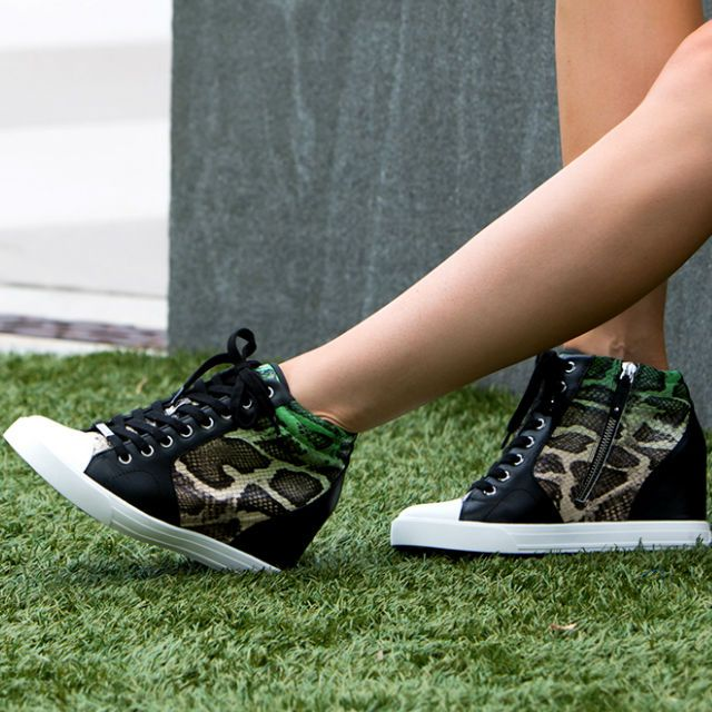 EDITOR'S NOTE DKNY Cindy Wedge Sneaker Shoes Super cute, Top Seller and quite different.