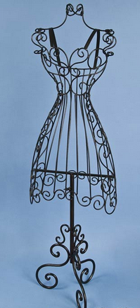 Small Decorative Wire Dress Form Decoration For Home