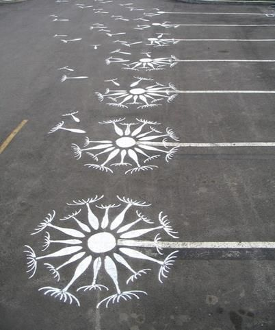 artist roadsworth continues to transform streets buildings and sidewalks into a visual playground is part of Street art graffiti - Artist 'Roadsworth' Continues to Transform Streets, Buildings and Sidewalks into a Visual Playground Streetart Simple