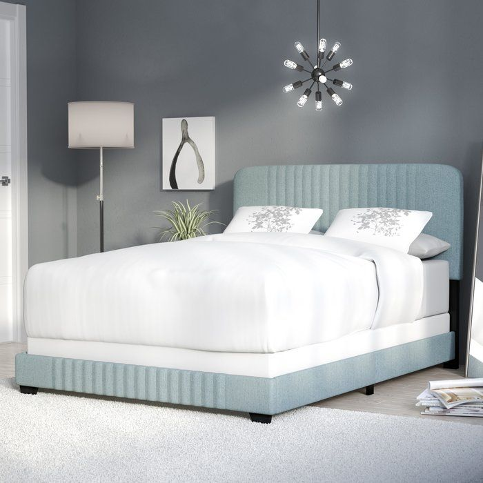 Best Delp Mid Century Upholstered Standard Bed Upholstered 400 x 300