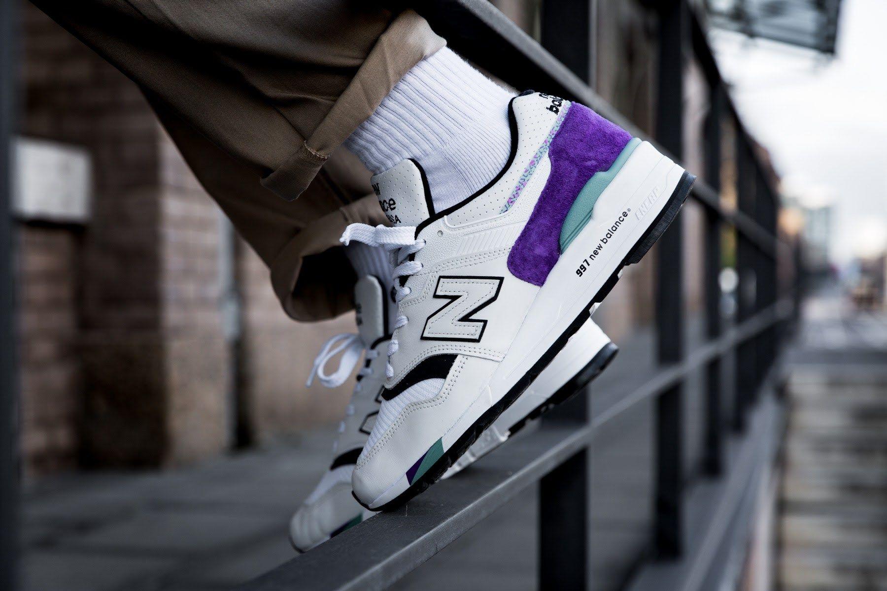 new balance 997 blanco