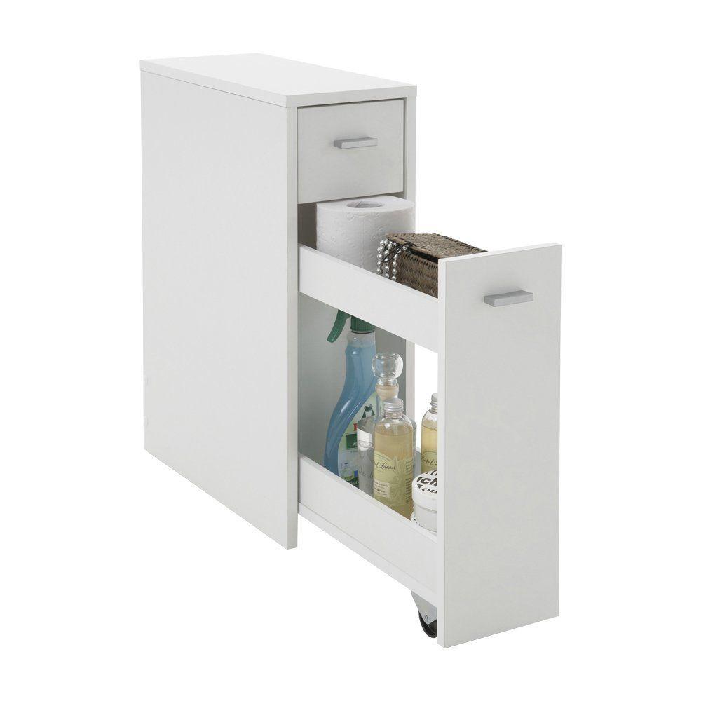 FMD Möbel 930 001 Kommode Denia 20 X 61 X 45 Cm, Weiß: