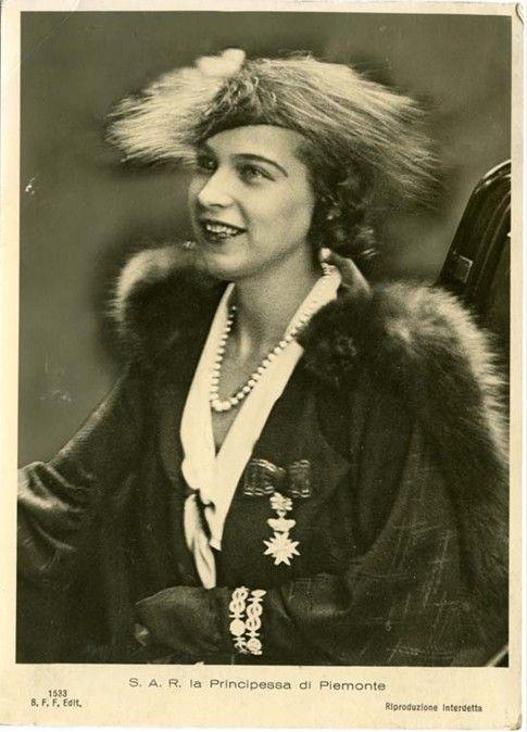 Queen Maria Jose of Italy nee Pss of Belgium