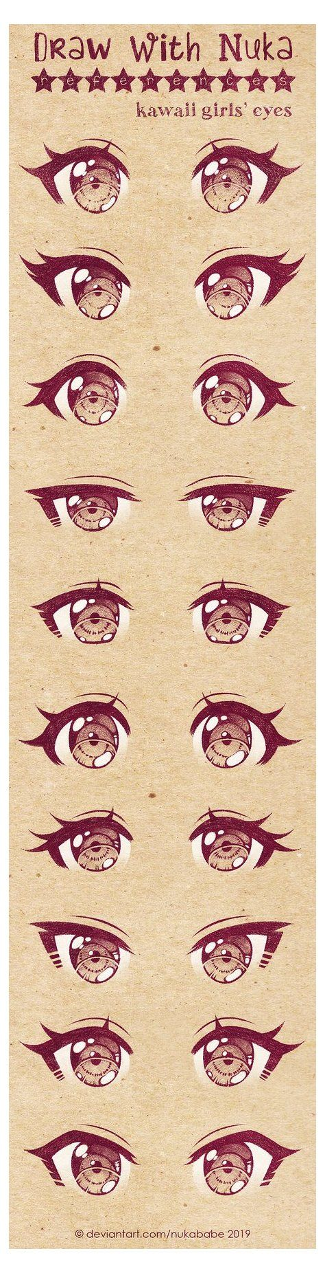 10 Ideas How To Draw Manga Anime Eye Tutorial 10 Concepts How To