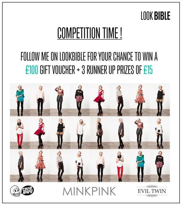 Enter my contest to WIN a £100 voucher to spend on Mink Pink, Cheap - new restaurant gift certificate template free download