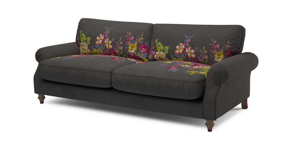 Enjoyable Cambridge Velvet 4 Seater Sofa Cambridge Plain And Floral Andrewgaddart Wooden Chair Designs For Living Room Andrewgaddartcom