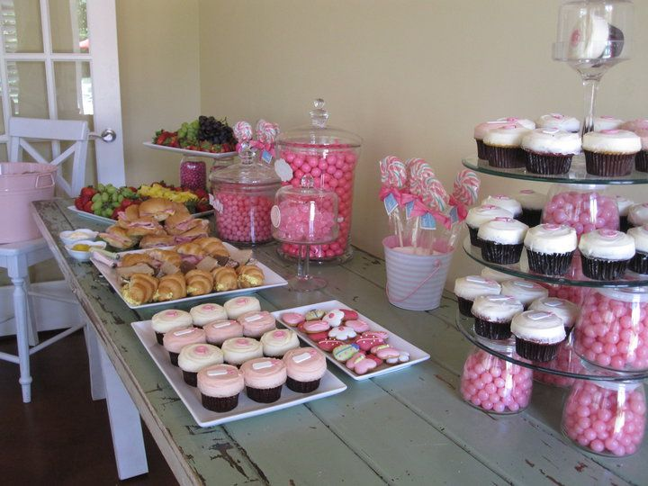 Baby Shower Room Set Up Ideas Baby Shower Table Set Up | We set some of the food up on my dining room  table which is an old .