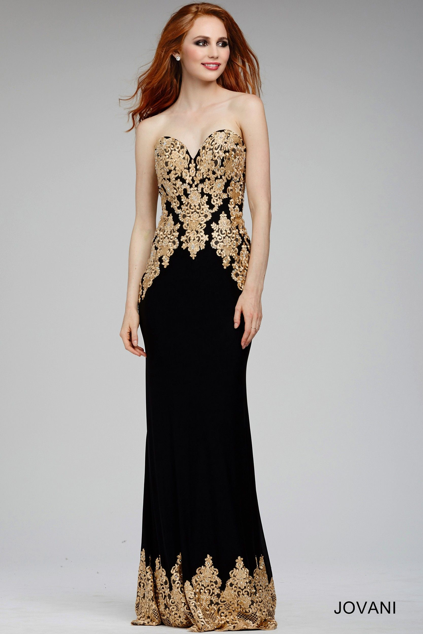 Gold dress jovani | Beautiful Clothing and Shoes for Petites | Pinterest
