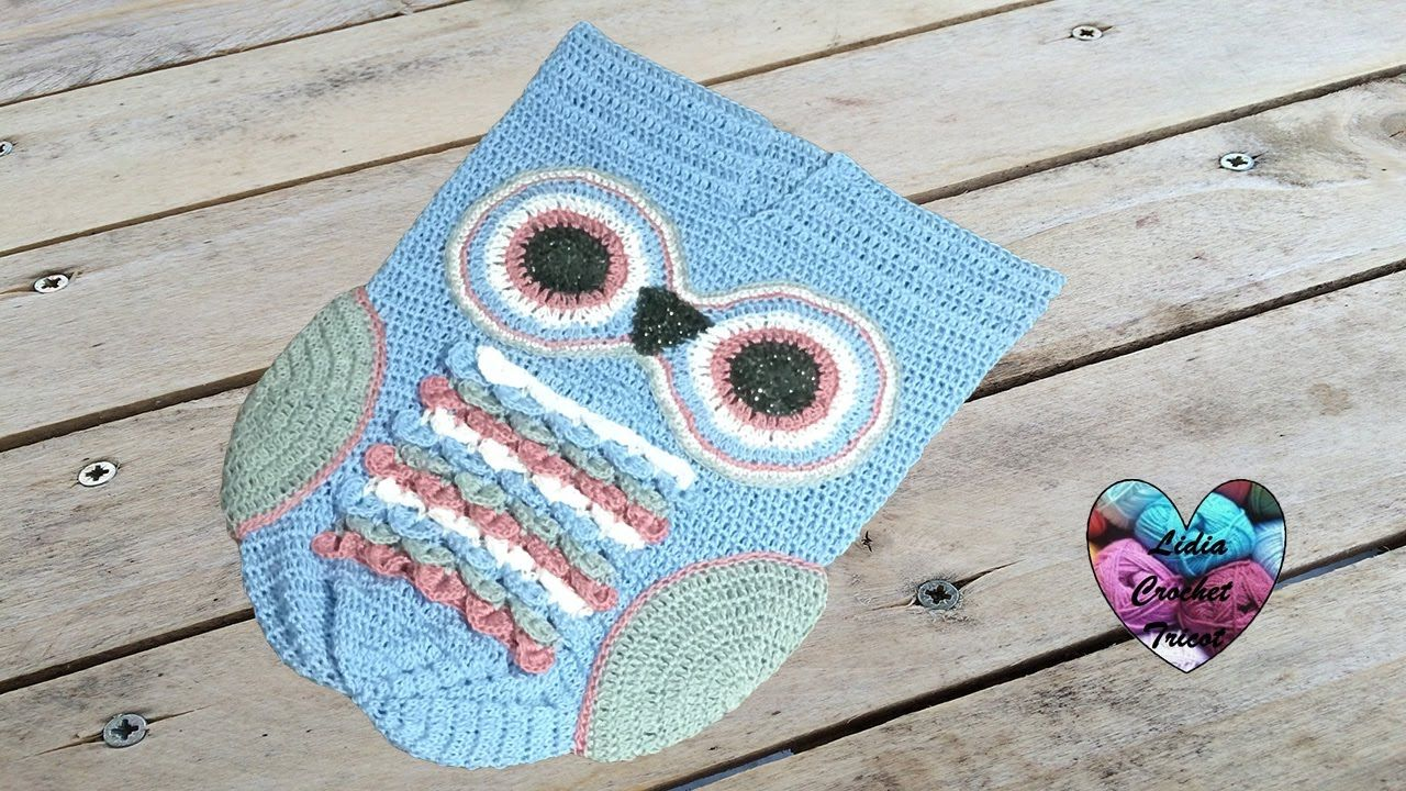 Cocoon owl crochet 1/2 (english subtitles) | Crochet | Pinterest ...