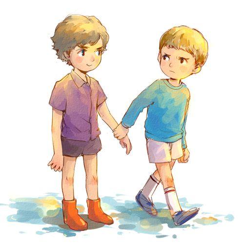 little Sherlock and John. kidlock! His boots!!!