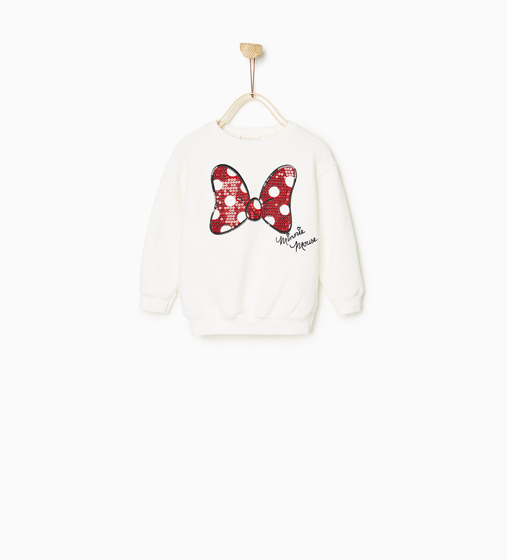 ZARA ENFANTS SWEAT MINNIE INDIGO | Babys | Ropa bebe