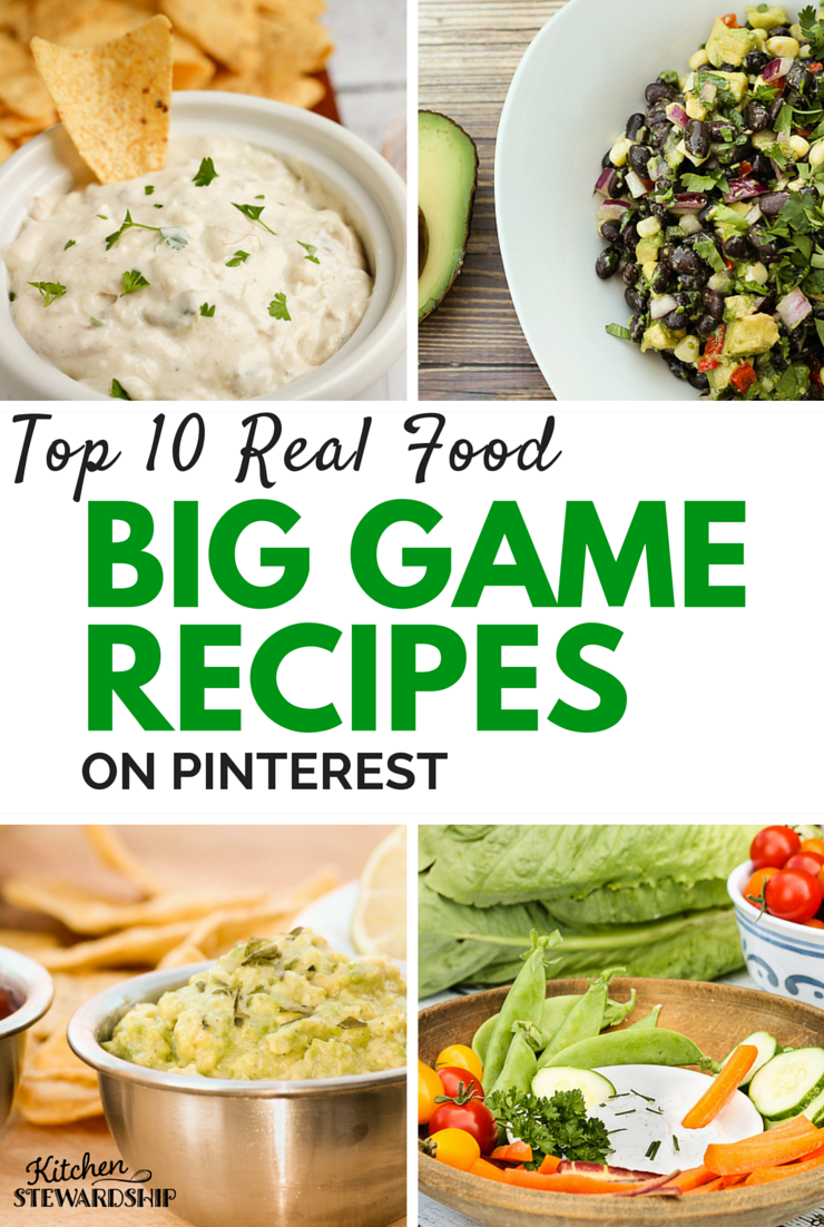 Make your traditional big game spread without cans and boxes make your traditional big game spread without cans and boxes check out this roundup of easy party foods made with real food forumfinder Choice Image