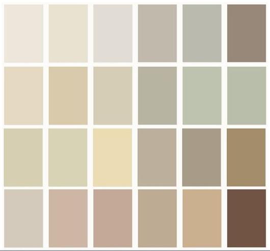 moderne farben für flur, küche, gästebad | совместимость цветов ... - Wohnzimmer Wandgestaltung Farbe
