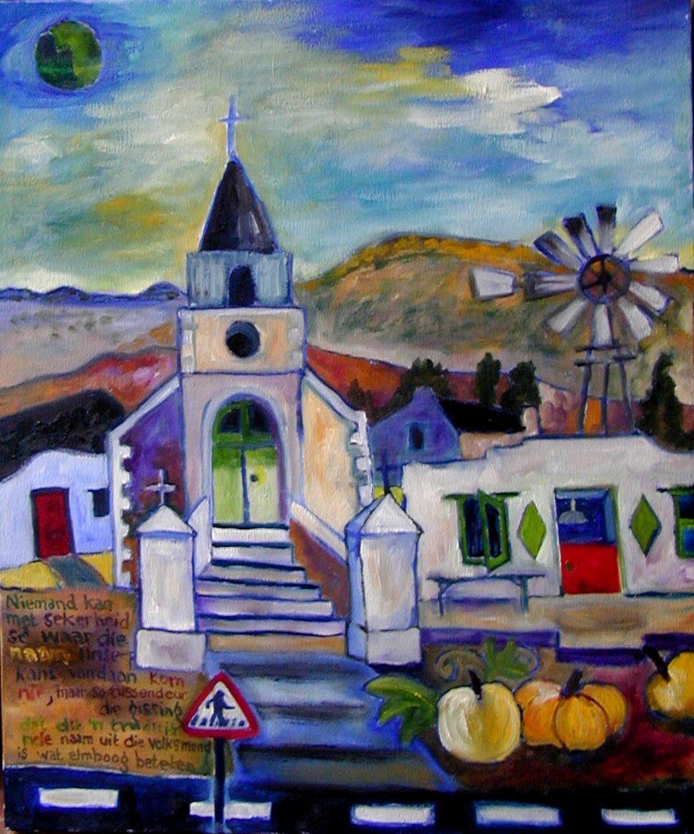 Thelmi Bekker South African Artist Harrismith Sa