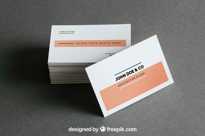 d7382d4551f1c Mockup de montón de tarjetas de visita