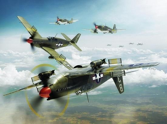 A-36 Apaches in Action.