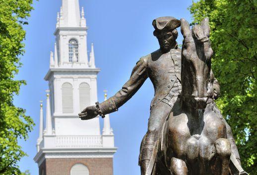 Paul Revere Statue - North End
