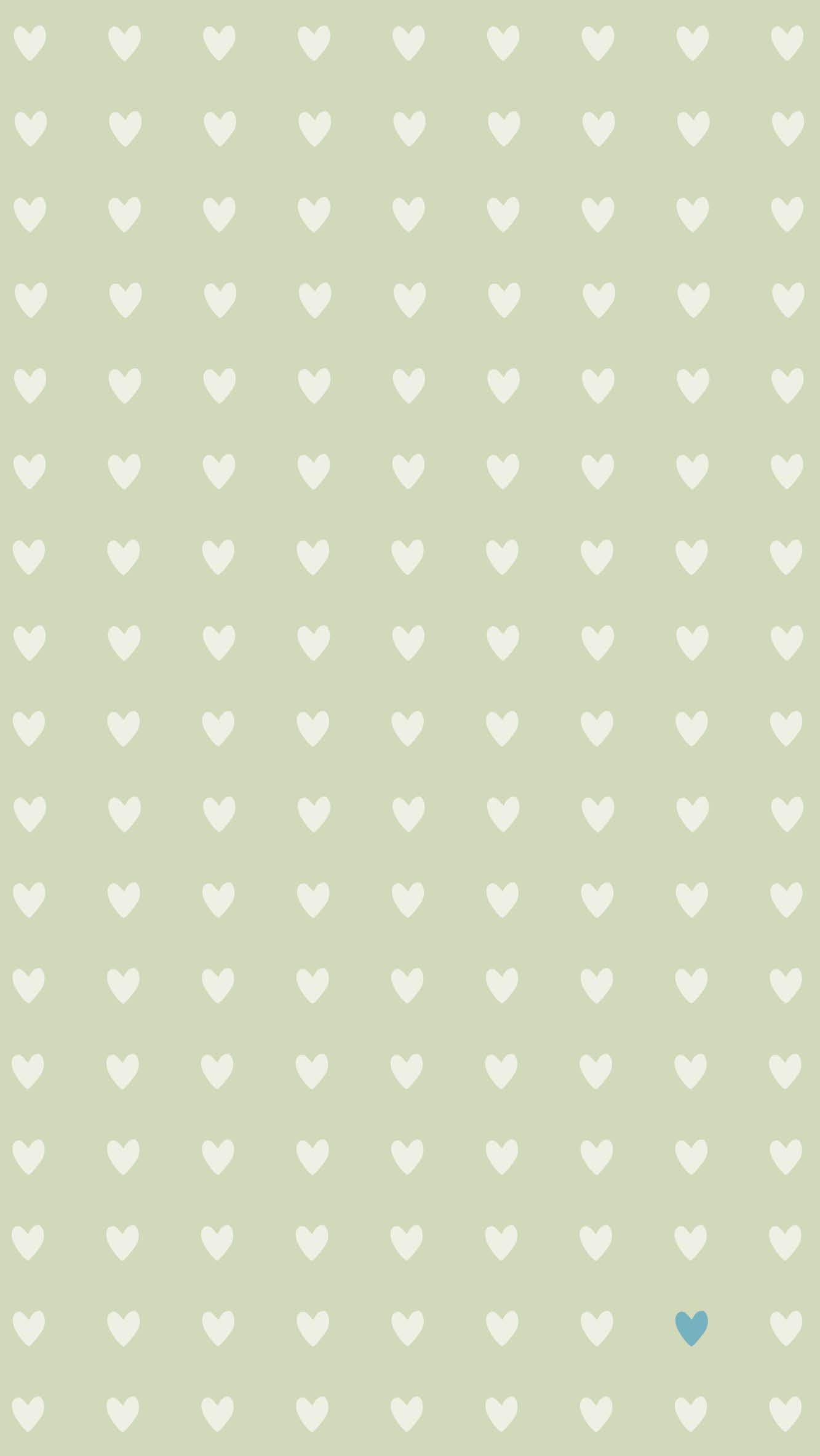 Sage Khaki Mini Hearts Iphone Wallpaper Background Phone Lockscreen Sage Green Wallpaper Heart Iphone Wallpaper Green Wallpaper