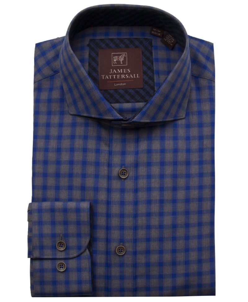 JTW6634-Blue from James Tattersall Clothing