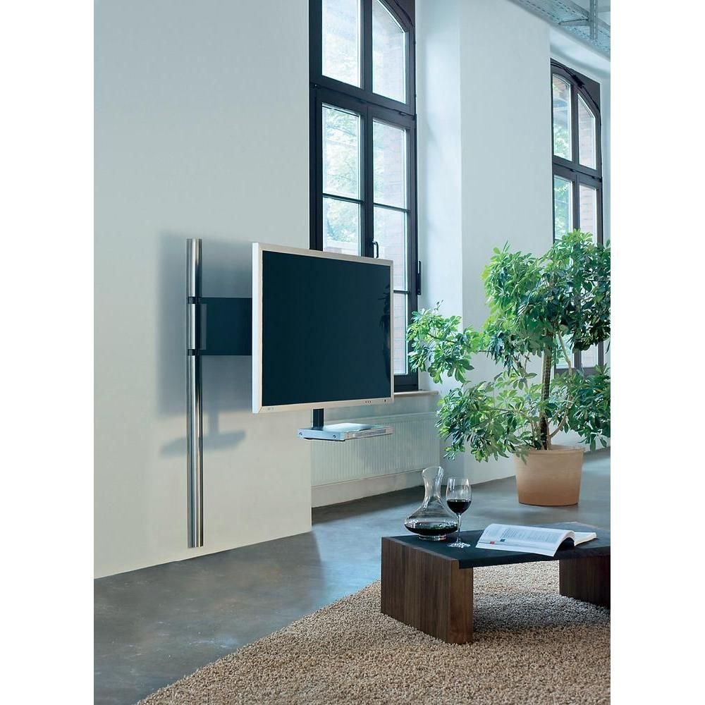 Wissmann raumobjekte tv wandhalterung art 123se 53 135 cm 60 152 4 cm silber - Wandhalterung tv und receiver ...