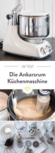 Im Test Die Ankarsrum Kuchenmaschine Aus Schweden Deko Pinterest