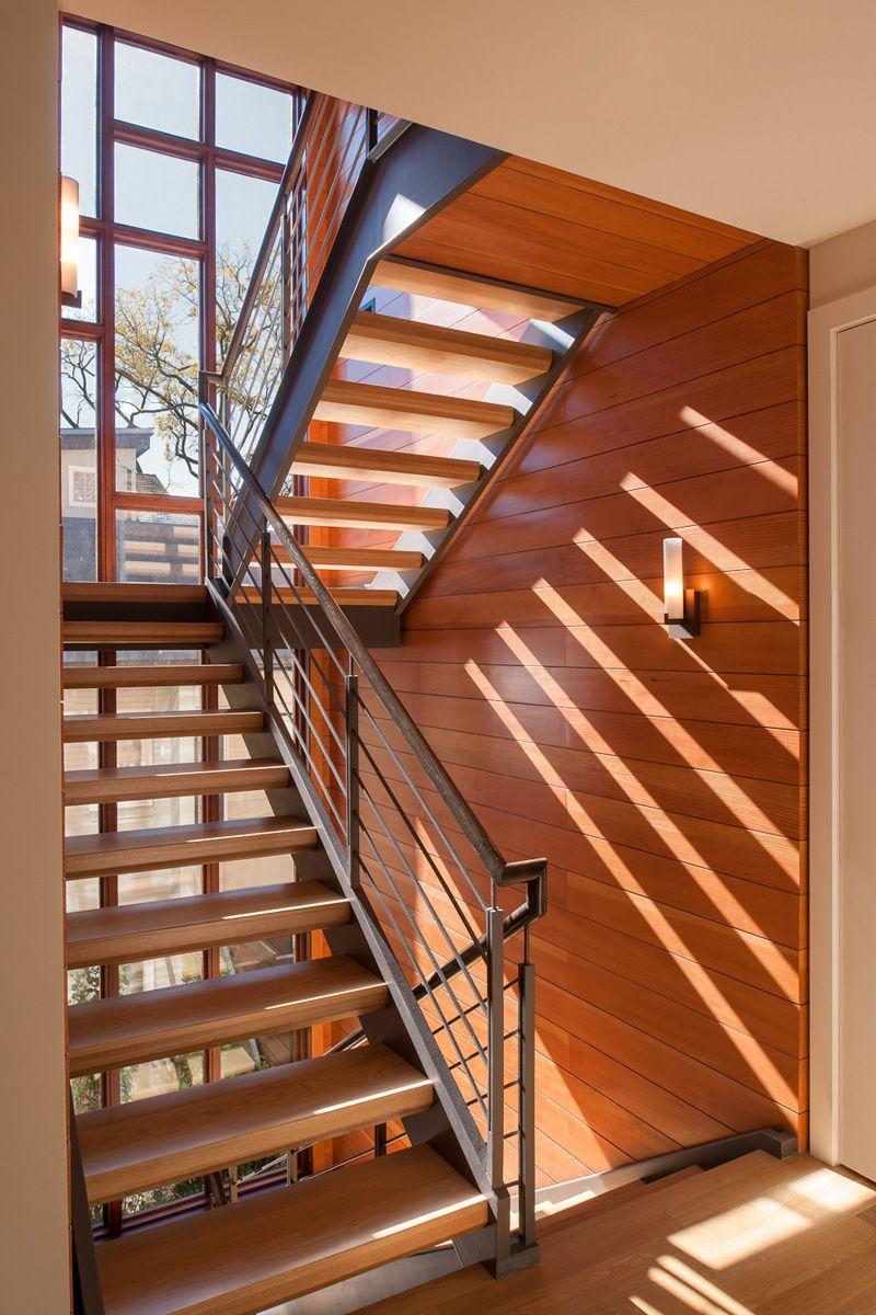Best Modern Open Staircase Tower In Washington Dc Modern 400 x 300
