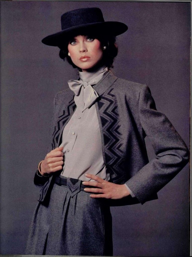Louis Feraud 1980s | Ретро фото в 2019 г. | Мода, Модели и ...