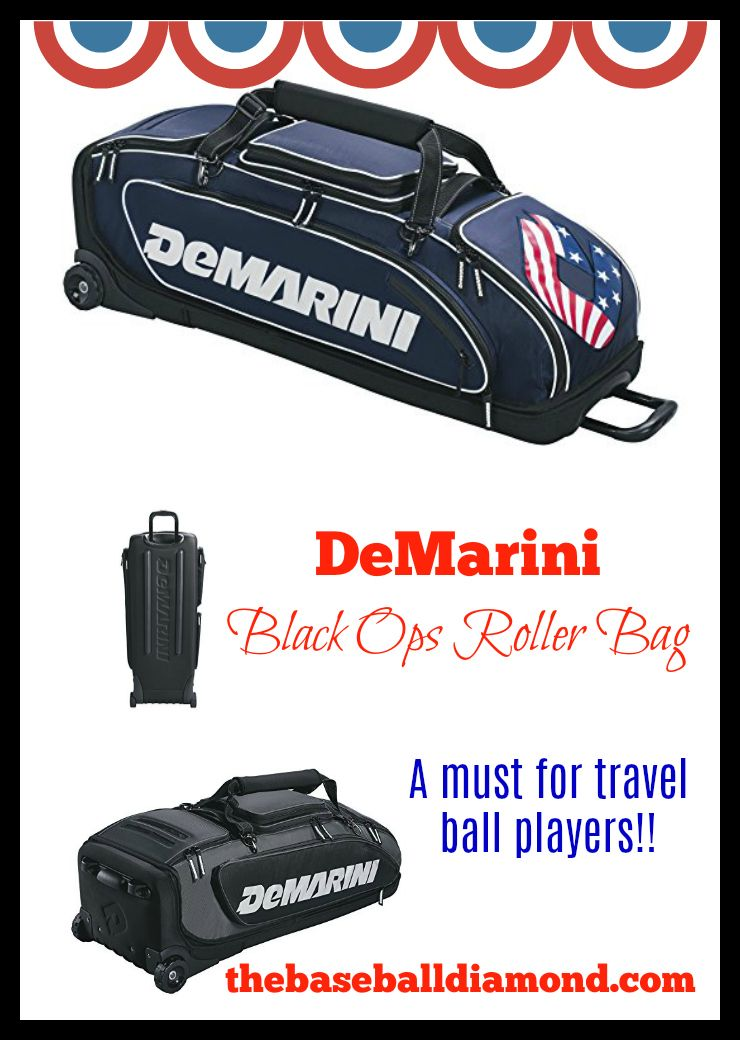 Demarini Black Ops Roller Bag The Ultimate In Baseball Bags Why Are Players Placing This Their Top 3 Best Wheeled