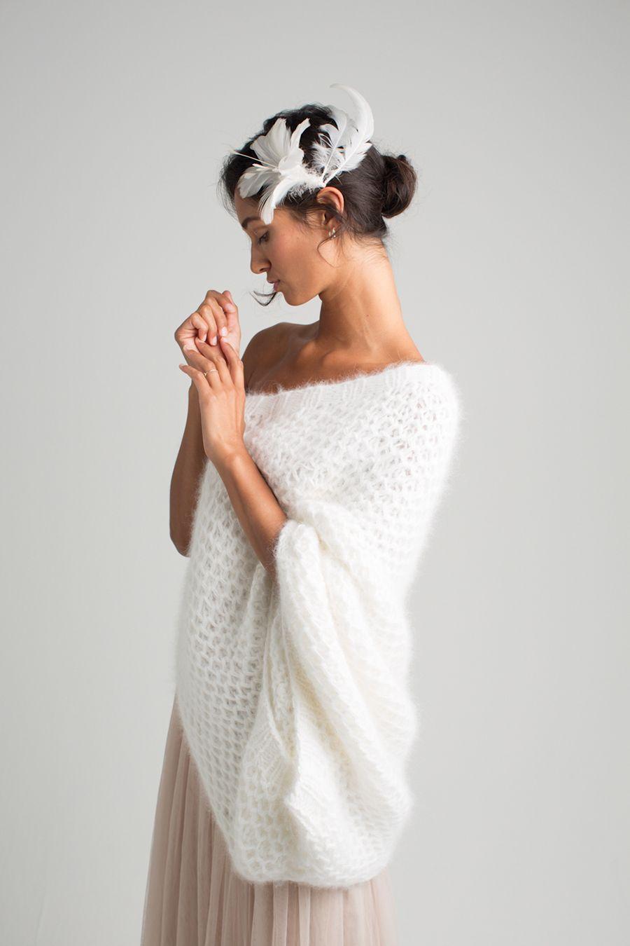 Marryandbride – Strickjacken für die Braut   Wedding   Pinterest ...