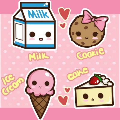 Cute Sweets by Tsubaki-Akia on DeviantArt