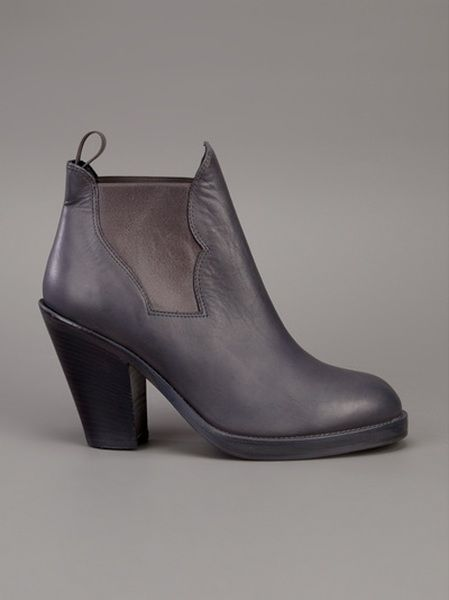 bdc3fa31ab35 Acne Star Boot in Gray (grey) - Lyst