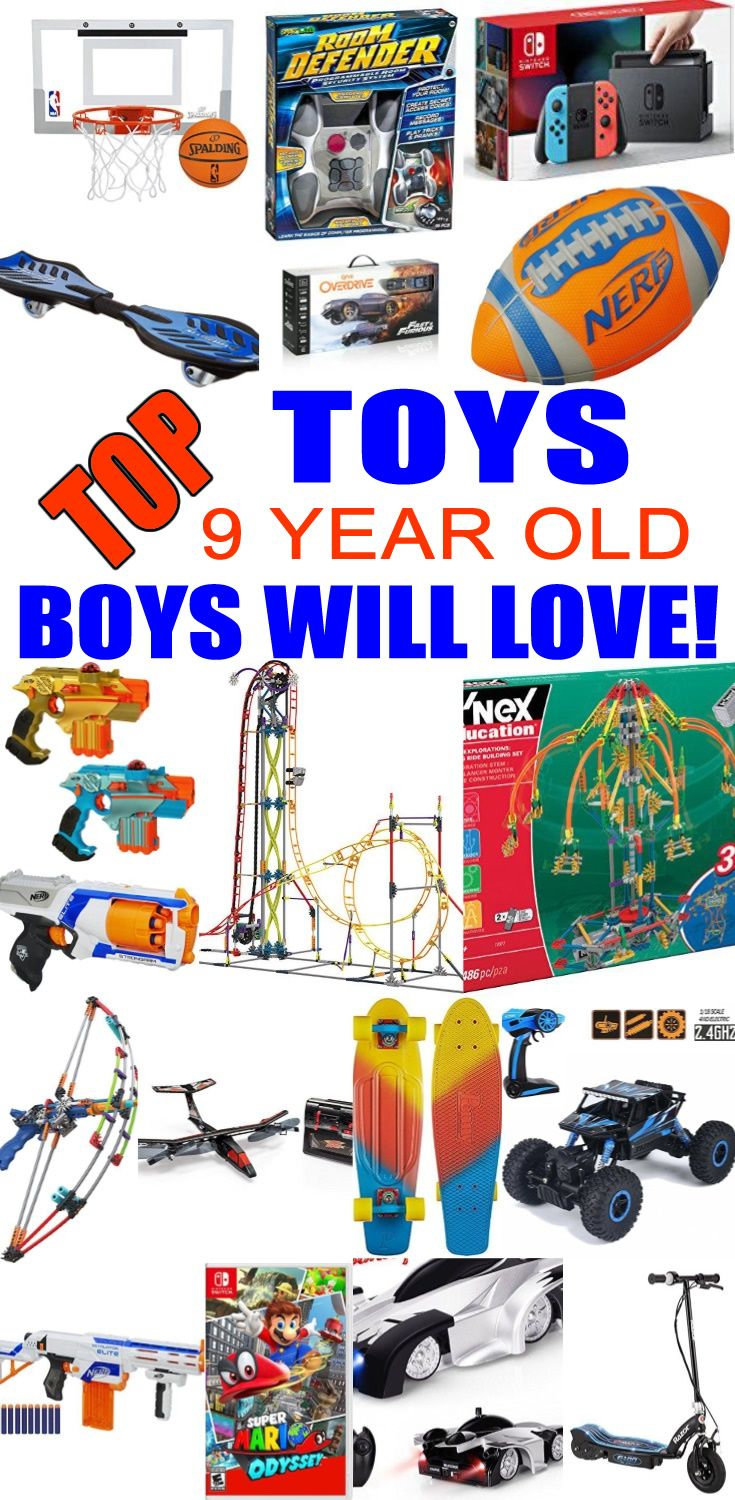Best Toys For 9 Year Old Boys Cool Toys Top Christmas Toys Birthday Gifts For Boys