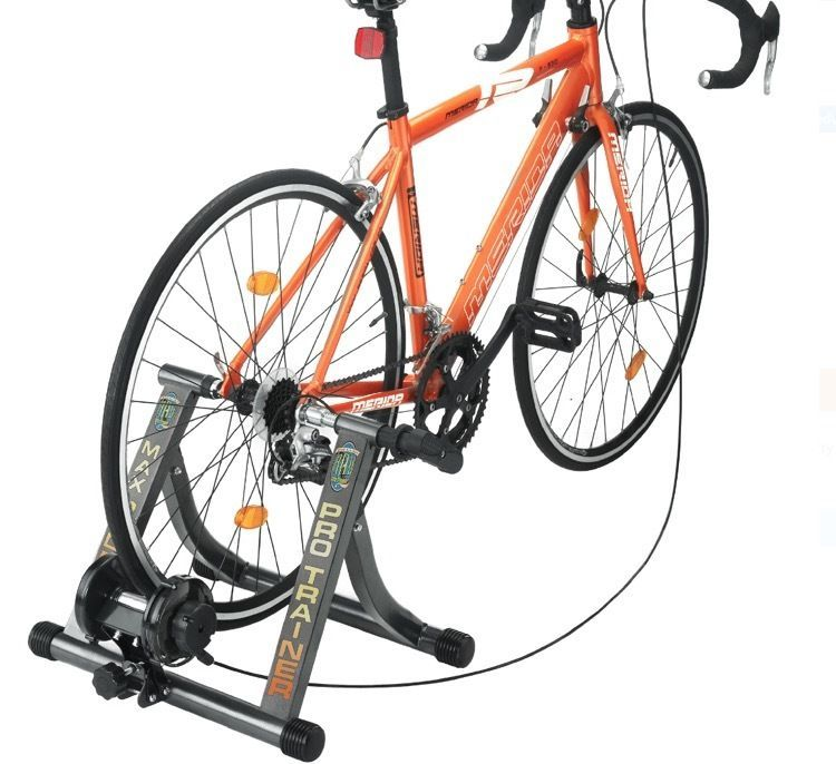 Stationary Bike Trainer Indoor Cycle Work Stand Training Workout