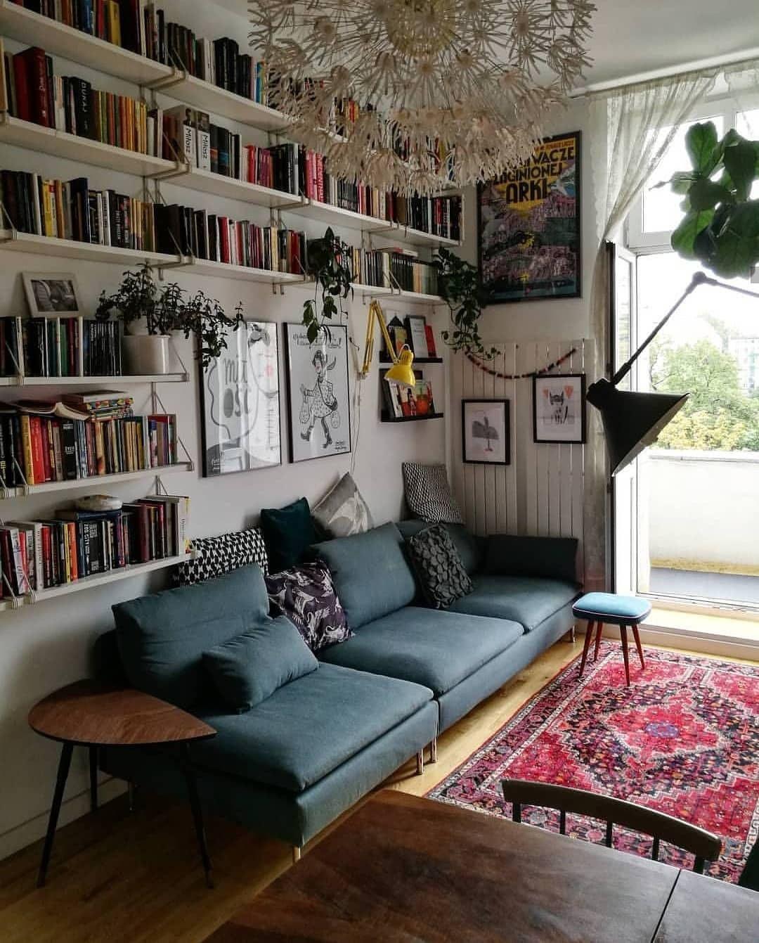 "Photo of Home with rue on Instagram: ""This is so cool via @takduzoitakladnie. . . . . . . . . . . #homewithrue #livingroom #livingroominspiration # livingroomideas… """