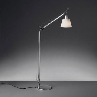 Tolomeo Shade Reading Floor Lamp By Artemide Tls0100 In 2020 Reading Lamp Floor Contemporary Floor Lamps Modern Floor Standing Lamps