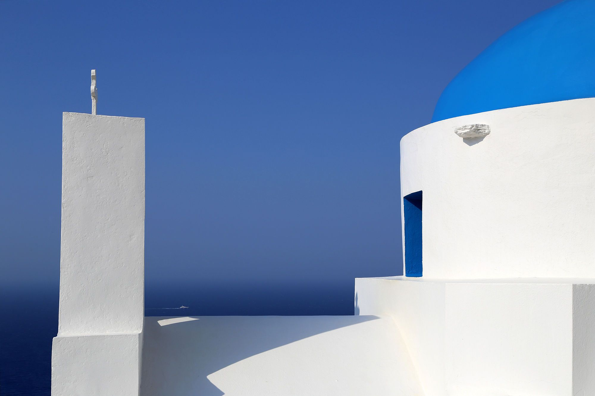 Blue and White Grecia