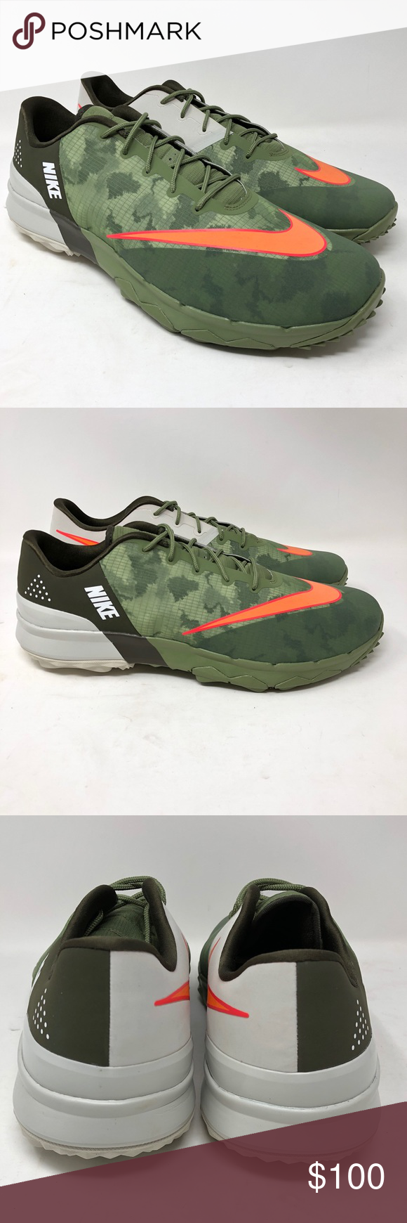 6427d173d0c31 Calzado Nike · Camuflaje · Zapatillas Deportivas · Naranja · Nike FI Flex  Spikeless Golf Shoe Green Camo Cargo Nike FI Flex Spikeless Golf Shoe Size