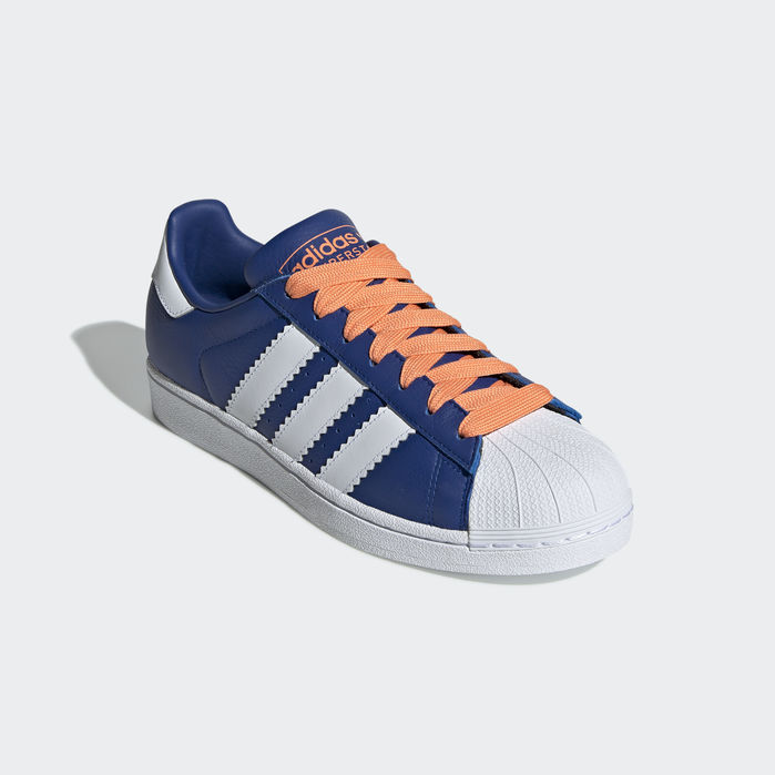 Superstar Shoes Collegiate Royal 12.5 Mens | Superstars