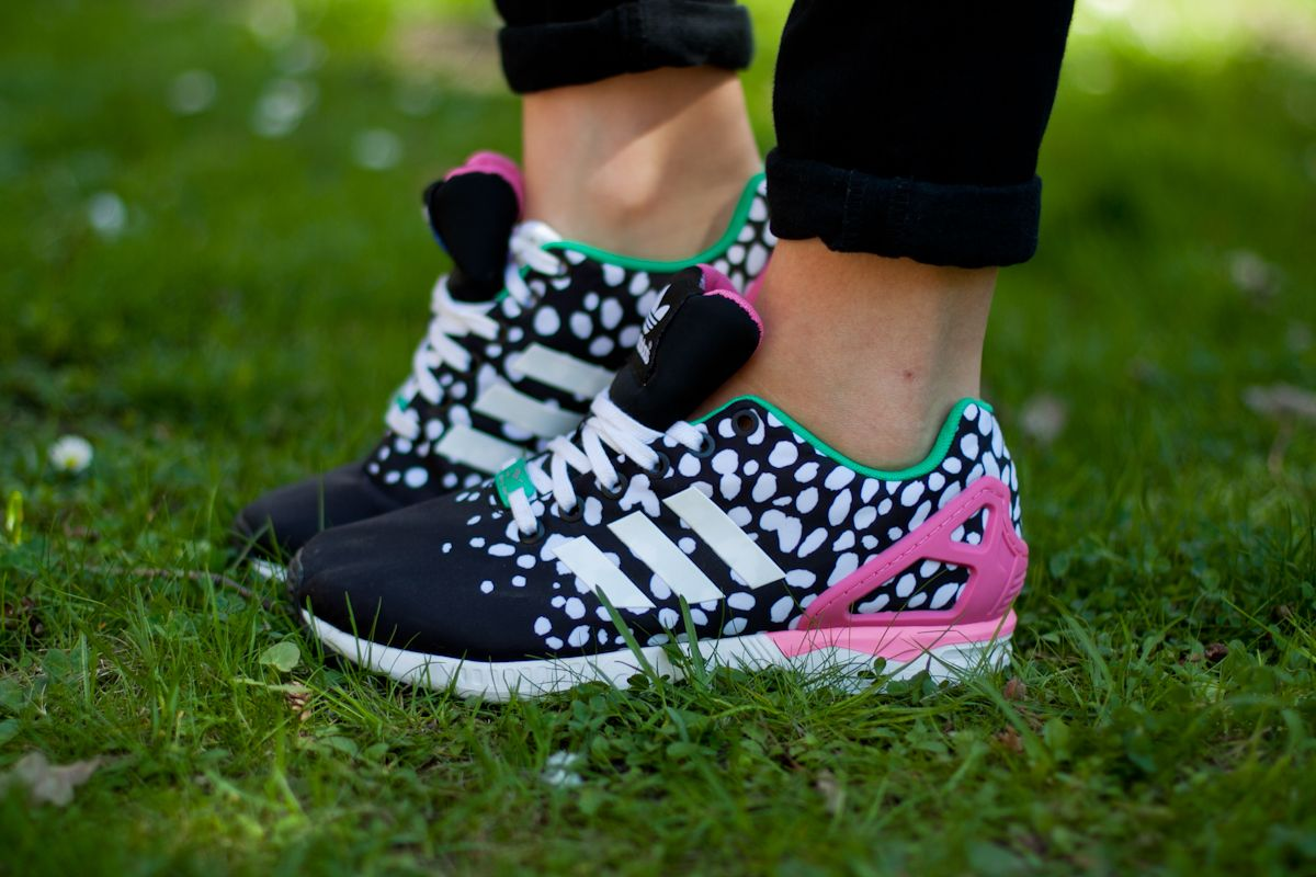 Wesole Adidasy Happy Sneakers Adidas Zx Flux Adidas Zx Zx Flux