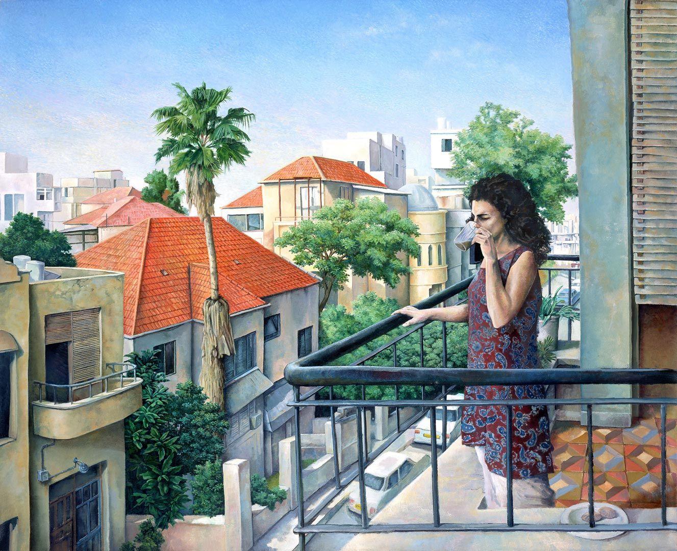 Morning coffe Shabat Tel-Aviv