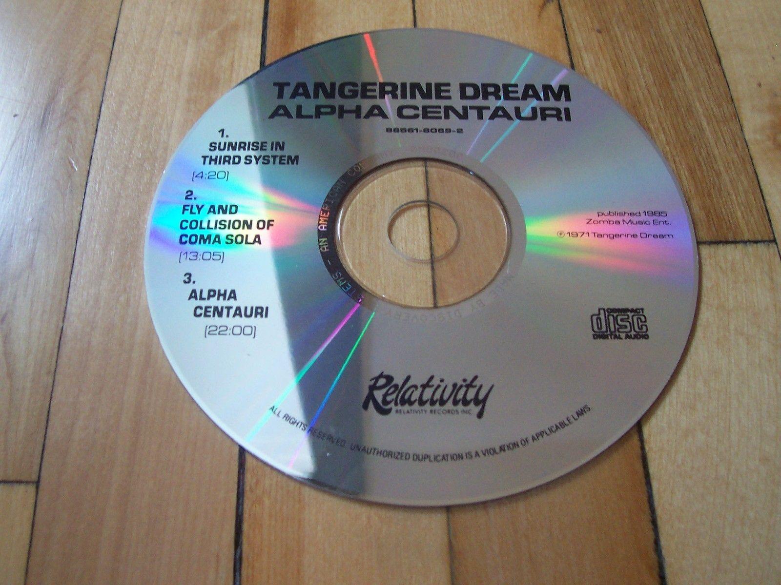 TANGERINE DREAM Alpha Centauri CD Only Missing Cover Insert & Jewel Case