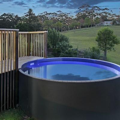 Pin By Kim Bailey On Garden Backyard Pool Plunge Pool