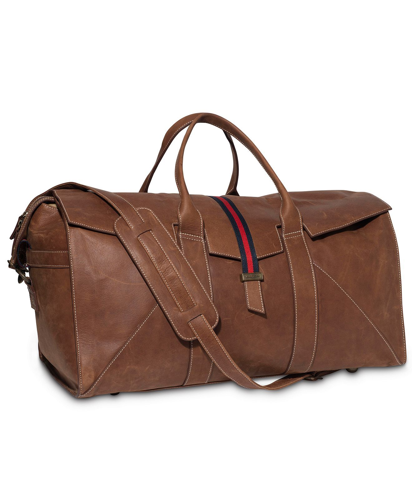 Tommy Hilfiger Bag Workhorse Leather Duffle