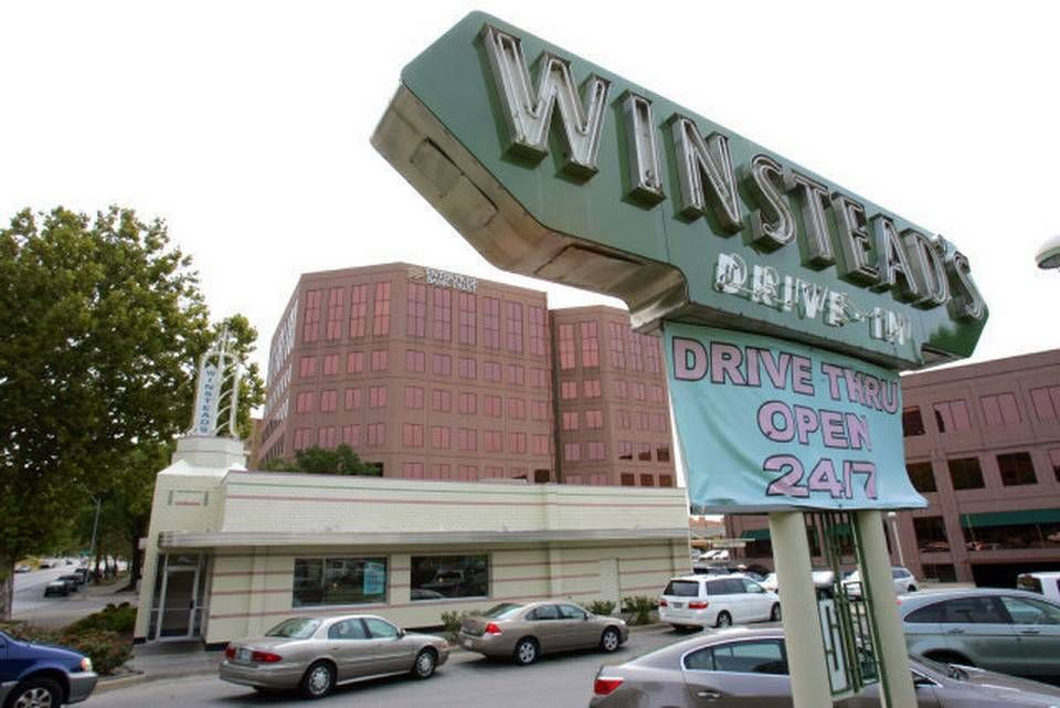 Winstead Drive In on the Country Club Plaza. Kansas City, MO. Steak burgers fries & malts.