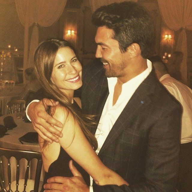 Ian Anthony Dale With His Wife Nicole Garippo Ian Anthony Dale Celebrity Couples Hawaii Five O