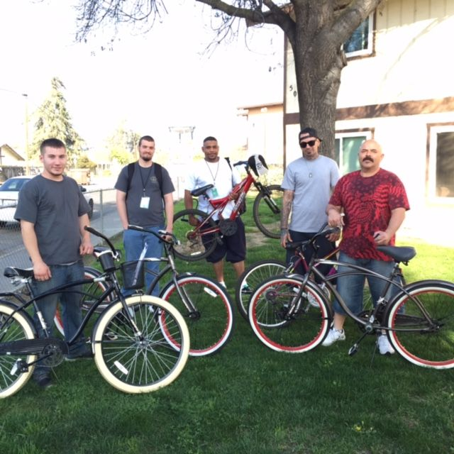 #‎MissionMonday‬ Some of our programmers enjoying their new bikes! Thanks to generous donations we were able to bless them with new transportation.