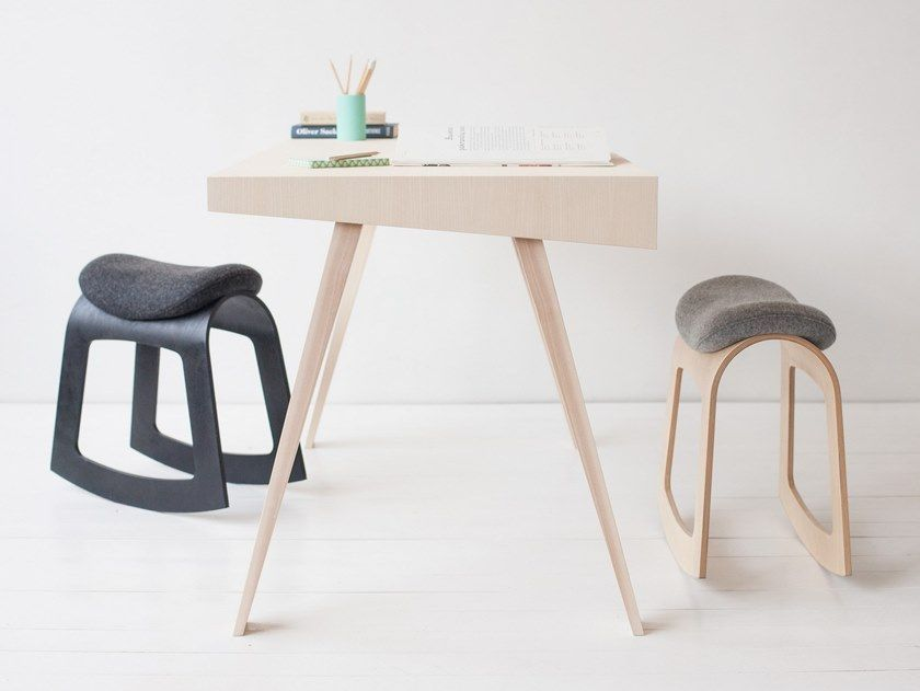 Rocking Plywood Stool Muista By Muista Ergonomic Chair Active Chair Oversized Chair Living Room