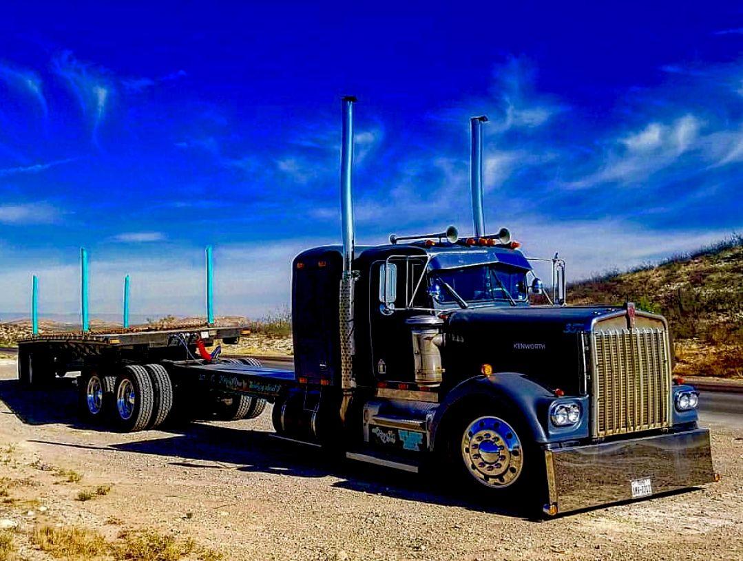 Old School Cool Kenworth Trucks Big Trucks Trucks
