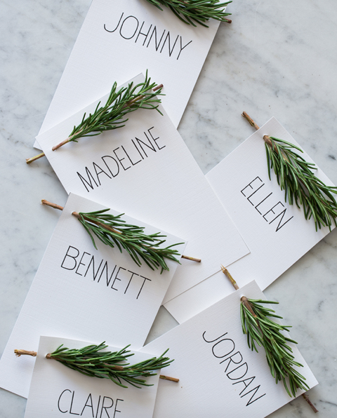 10 diy place card ideas bloggers best entertaining and wedding