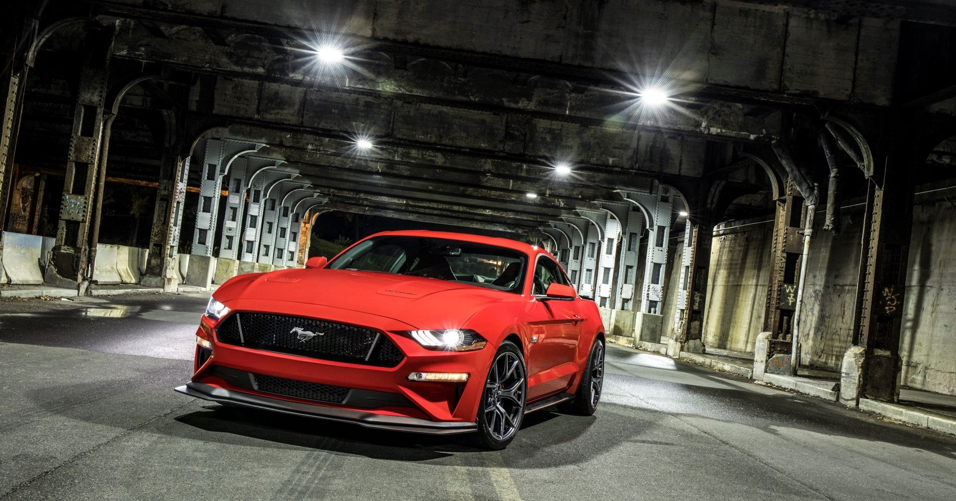 2018 Ford Mustang Gt With Performance